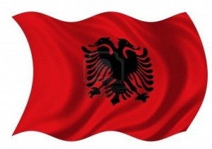 1-Bandera de la República de Albania