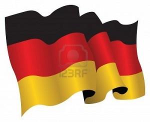 2- Bandera de la República Federal de Alemania