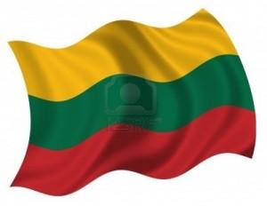 65 - Bandera de la República de Lituania