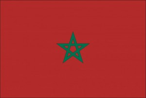 69- Bandera de la República de Marruecos