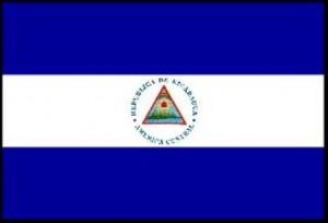 73- Bandera de la República de Nicaragua