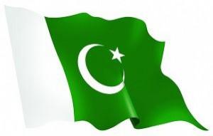 79- Bandera de la República Islámica de Pakistán