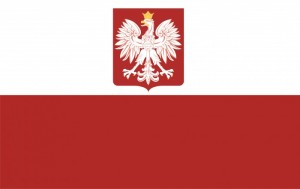 81- Bandera de la República de Polonia