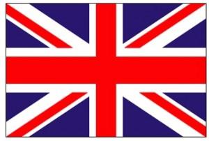 83- Bandera del Reino Unido de Gran Bretaña e Irlanda del Norte