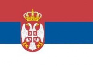 89- Bandera de la República de Serbia