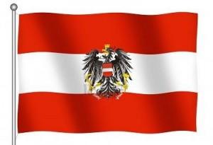 9- Bandera de Austria