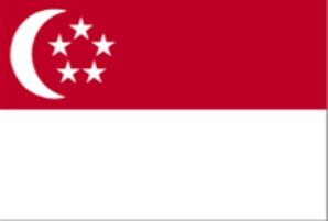 90- Bandera de Singapur
