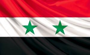 91- Bandera de la República Árabe de Siria