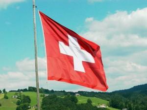 95- Bandera de la Confederación Suiza