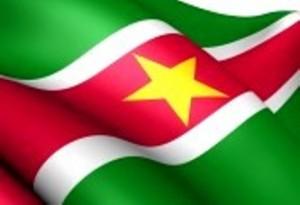 96- Bandera de la República de Surinam