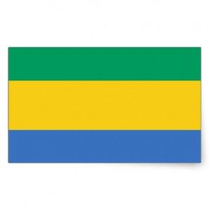 bandera repuvlica gabonesa