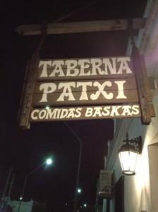 taberna patxi