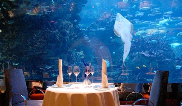 Los siete mejores hoteles bajo el agua de dub i a las for Hoteles mas lujosos del mundo bajo el mar