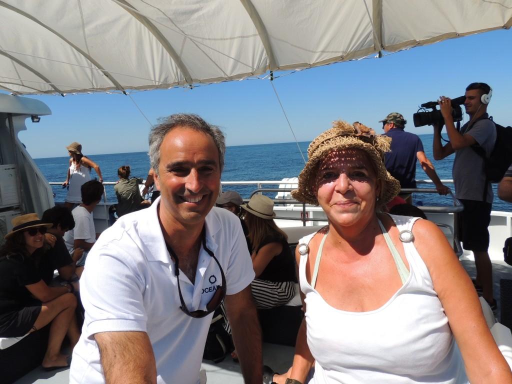 Marcelo Kopyto y L Bagnasco de TPDE y Círculo de Periodistas de Turismo