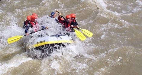 Rafting en el Río Buzau