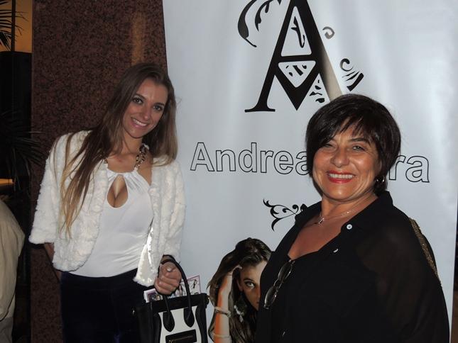 Empresaria Andrea Mera y Dra. Laurita Larrama