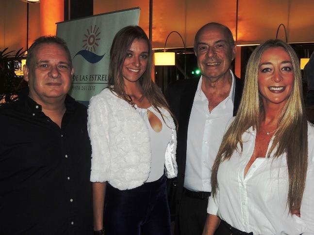 Gerardo Rodriguez de Frank´s y Sra,Dr. Alberto Elbaum y Judith del Bosque.