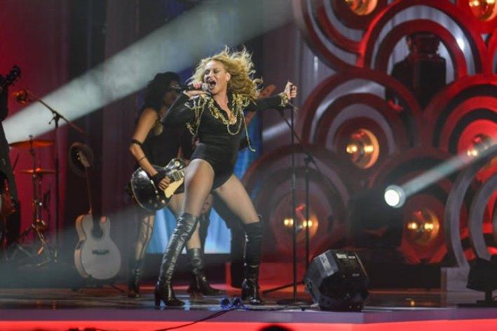 Actuación de Paulina Rubio