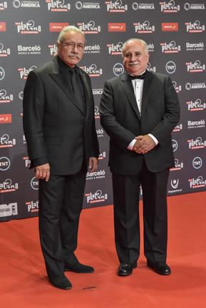 Edward James Olmos y Alejandro Bustamante