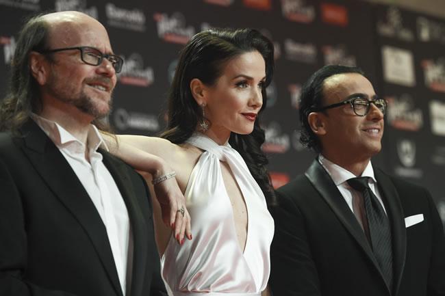 Santiago Segura, Natalia Oreiro y Adal Ramones